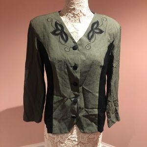 Vintage western style blazer